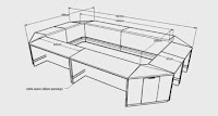 Intrior Ruang Rapat - Conference table O-shape