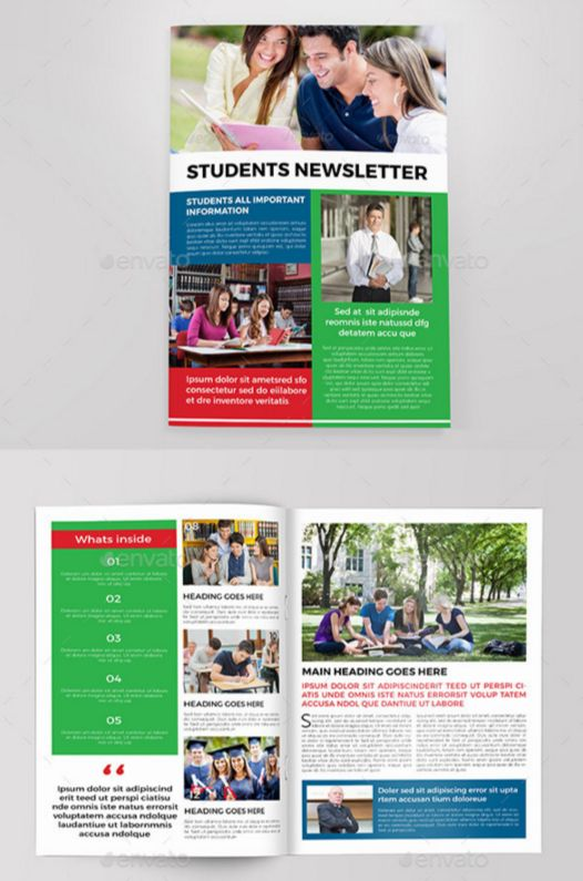 54. Indesign Newsletter Template