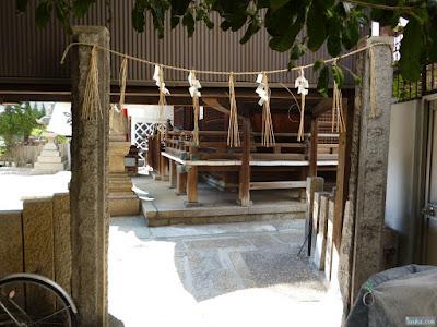 式内比賣許曾神社横入口