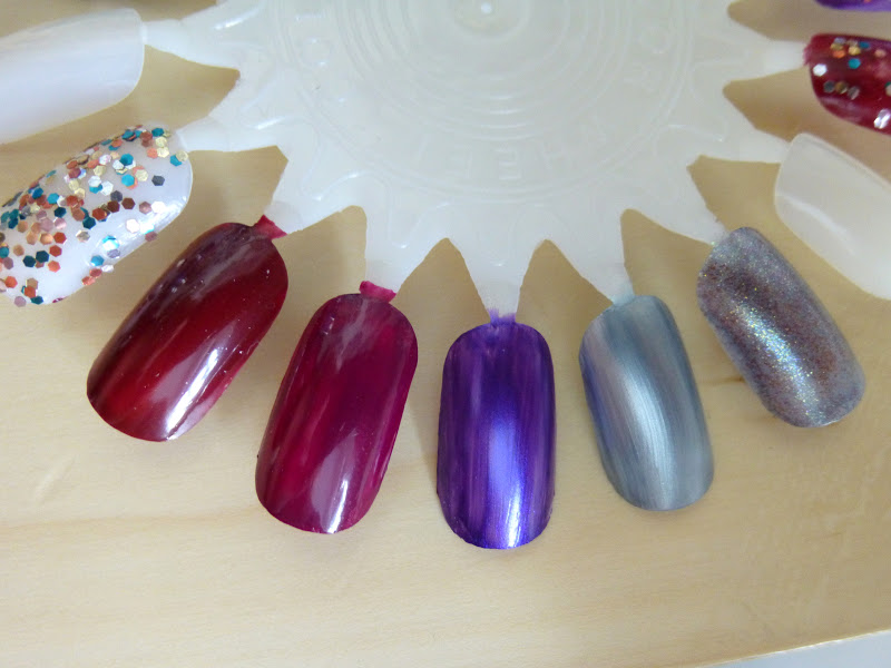 OPI Skyfall Collection Swatches