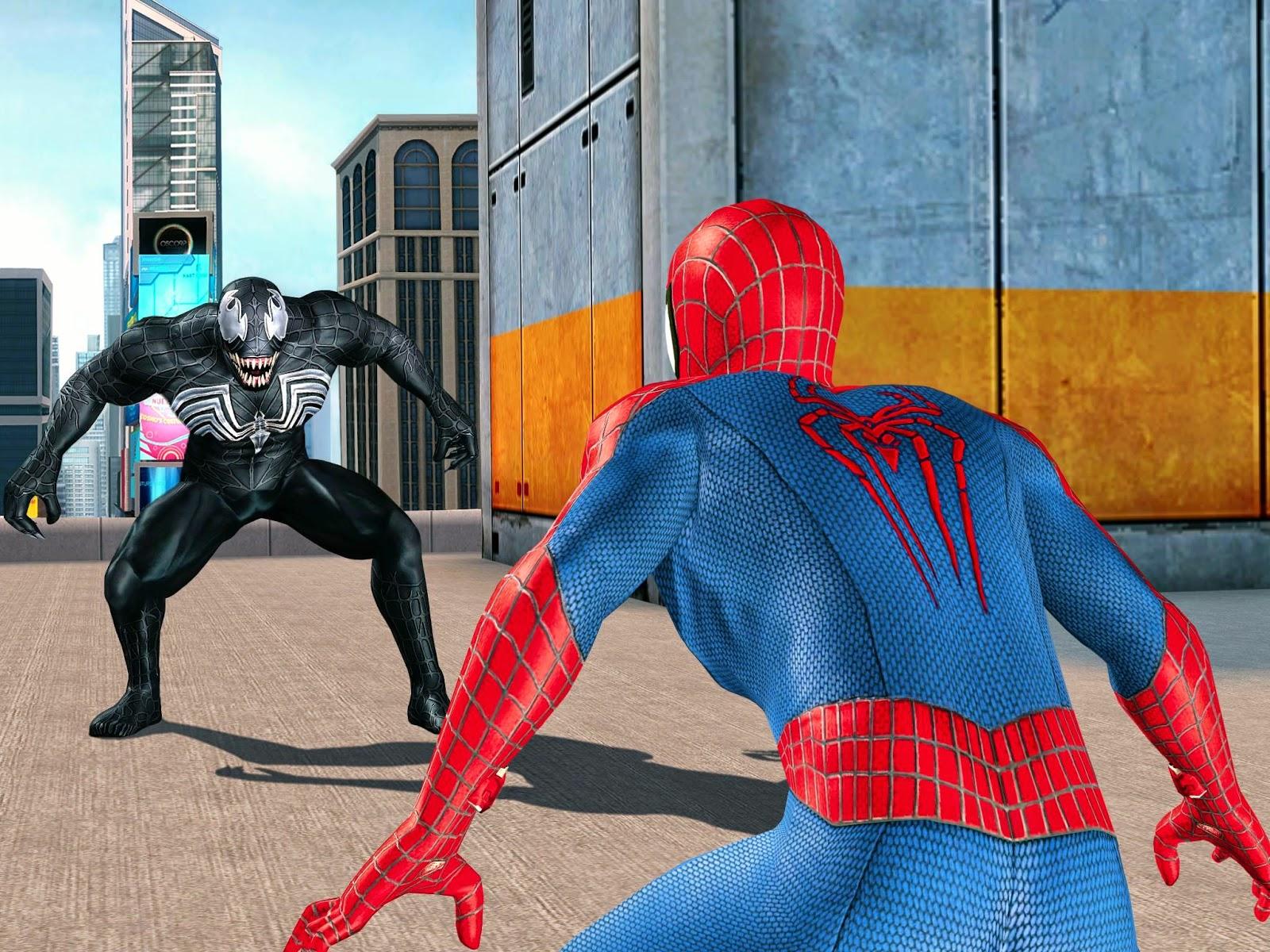 Картинка с человеком пауком двумя