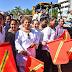 Da banderazo Adela Román al Programa Emergente de Bacheo, Limpieza y Recolección de Basura en Acapulco