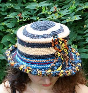 kapelusz szydelkiem GGW Fashion Gallery