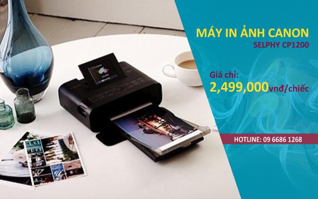 bán máy in ảnh canon selphy cp1200 giá rẻ