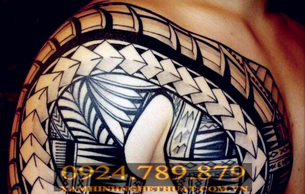 Hình xăm tribal đẹp