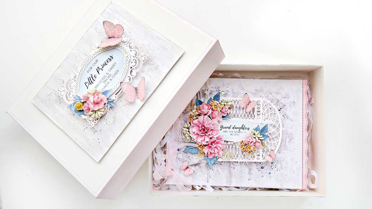 Spellbinders Amazing Paper Grace Die of the Month (March) | Erum Tasneem | @pr0digy0