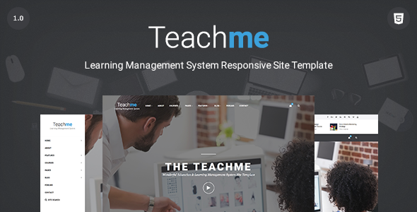 Teachme Bootstrap Template
