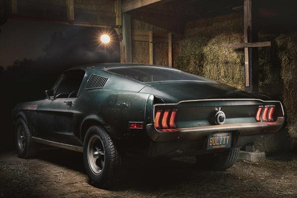 Ford Mustang Bullit Steve McQueen