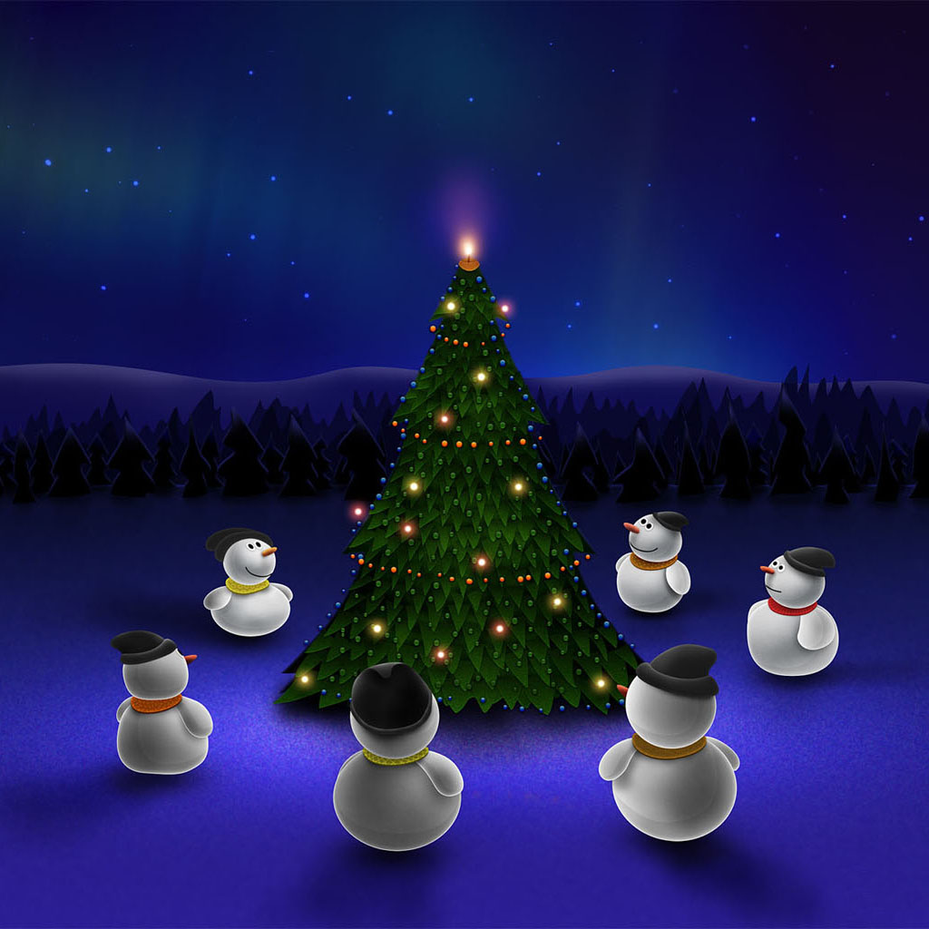 Ipad Mini Wallpaper Christmas Images Amp Pictures Becuo