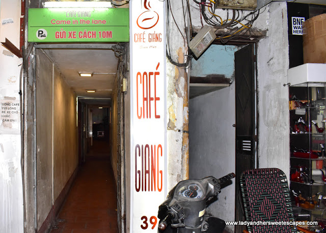 Giang Cafe in Hanoi