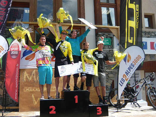 Mountain of Hell 2013 - Le Podium