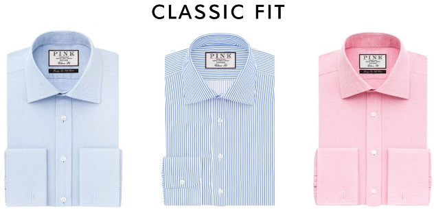 Classic Fit Dress Shirts