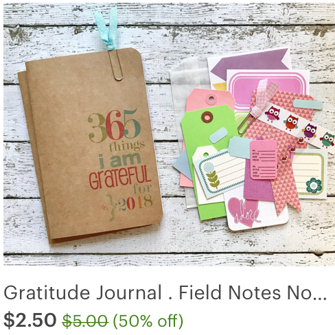 #gratitude #grateful #travelers notebook #notebook #midori #hournal
