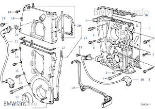 BMW E36 SOLUTION: PART MESIN BMW E36 / M43 / 318 / 1800CC