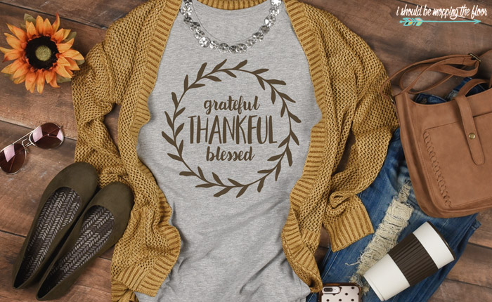Grateful Thankful Blessed Design