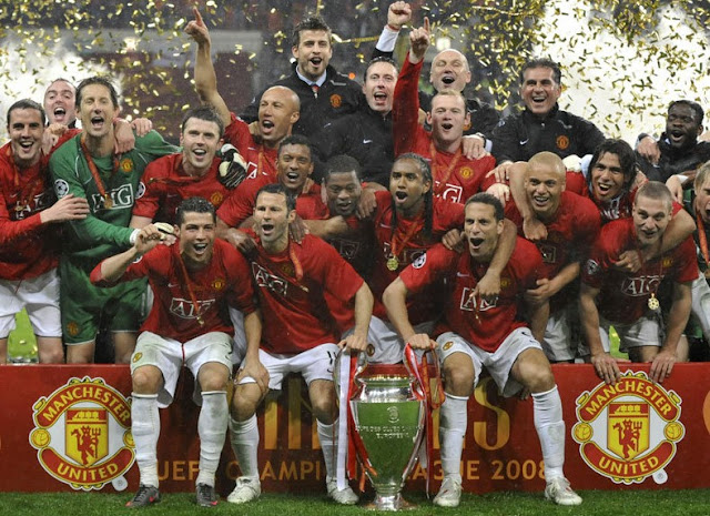 Manchester United win in Moscow