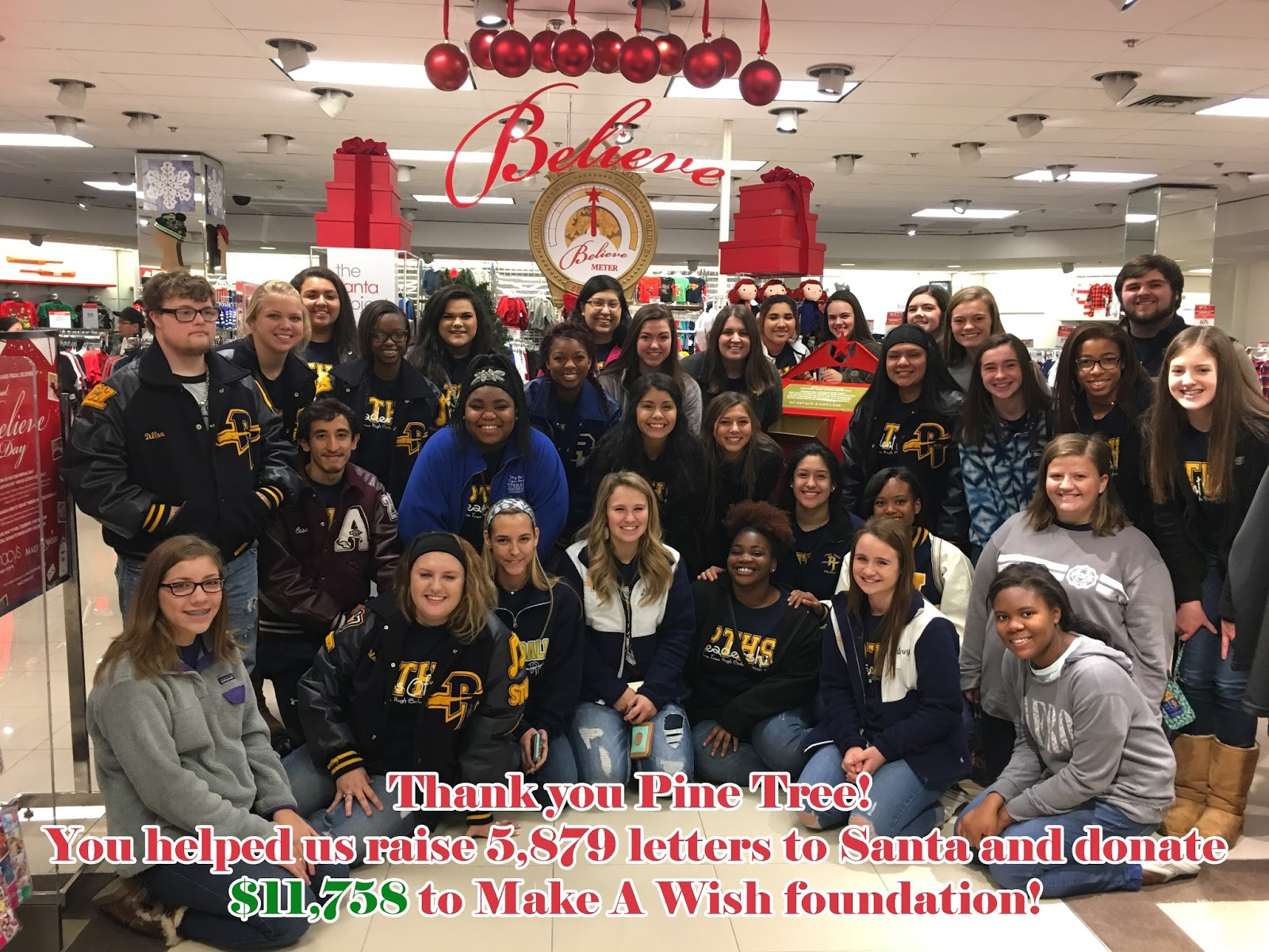 The Pine Tree Post District News Pine Tree High School LeadershipStudent Council Collects