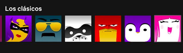 Las nuevas imágenes personalizadas de los perfiles de Netflix