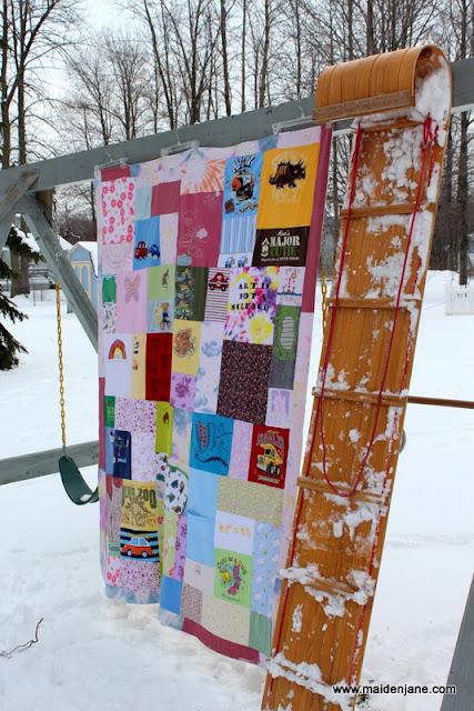 Susana's Family Hodge Podge Quilt Blanket