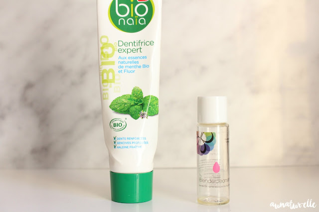 dentifrice bio naïa, beauty cleanser by beauty blender