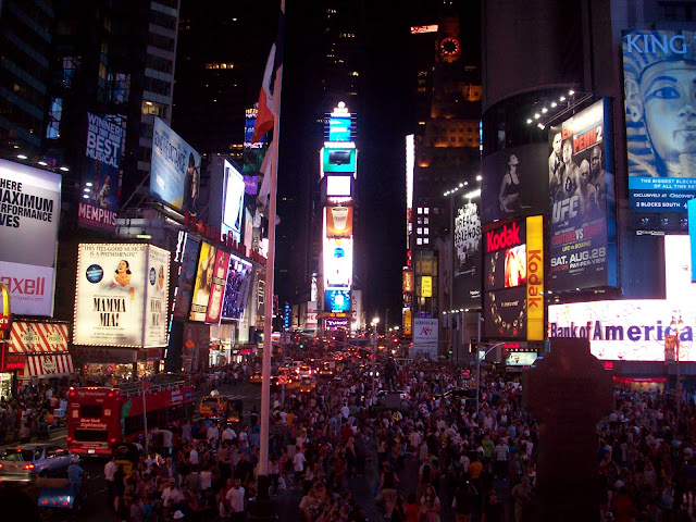 Times Square!!! :D