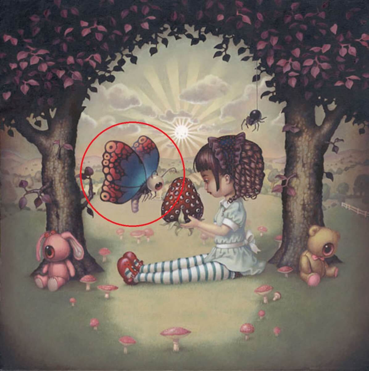 The First Thing That You Notice On This Picture Shows Your Hidden Fear - Butterfly
