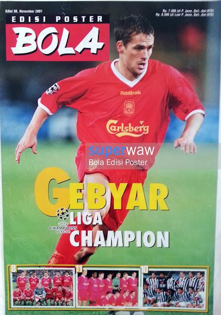 Bola Edisi Poster - Gebyar Liga Champion
