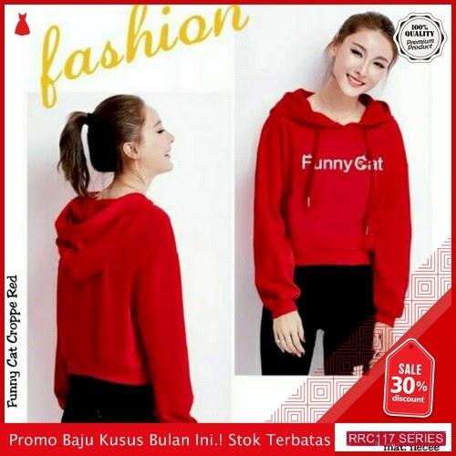 RRC117F31 Funny Terbaru Cat Sweater Hodie Wanita Terbaru BMGShop