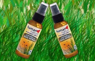 Human Nature citronella bug spray