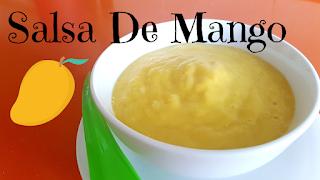 salsa de mango o vinagreta de mango