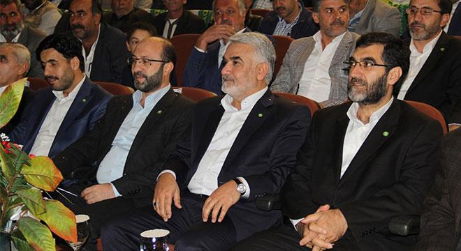 HÜDA PAR Kayapınar ilçe teşkilatı 2. olağan kongresi yapıldı
