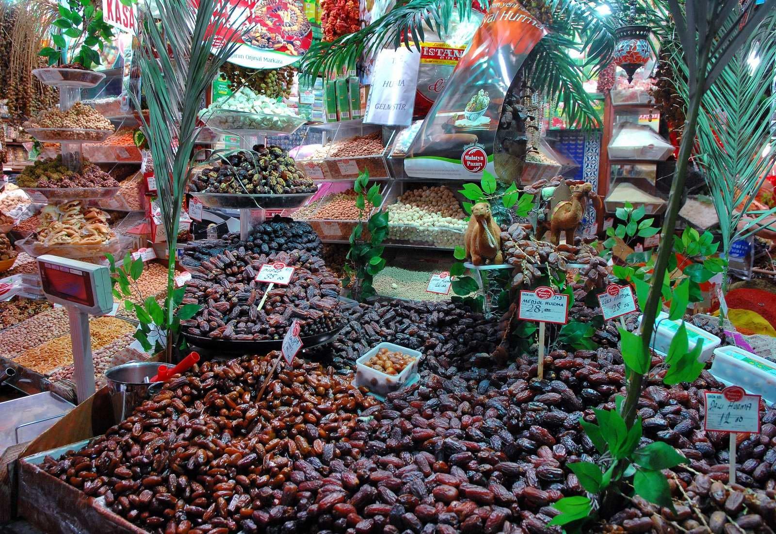自由的魚: 伊斯坦堡-香料市場(Spice Bazaar)與大市集 (Grand Bazaar)