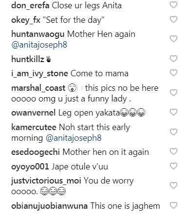 """Open Heavens"" - Anita Joseph Opens Her Legs Wide Showing Her Kpetus, Fans React"