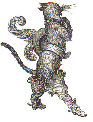"""Gustave Doré, """"El gato con botas"""""""