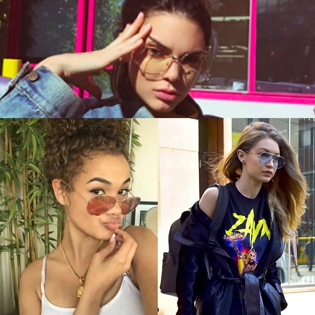 Tendências: Óculos de sol com lentes transparentes