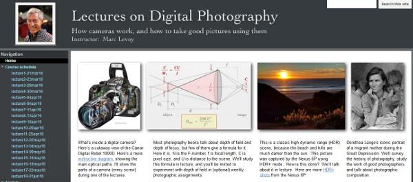 Kursus Fotografi Online Secara Gratis Dari Seorang Profesor Emiritus Universitas Standford
