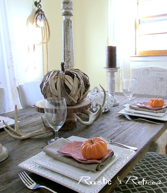Autumn Table Setting Idea for the Home