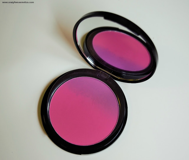 NYX Ombre Blush in the shade Code breaker  swatches