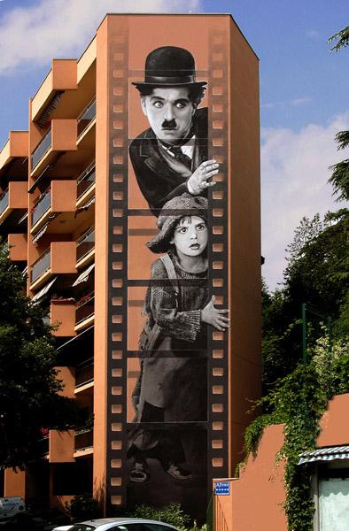 gambar lukisan 3d pada bangunan paling keren dan paling menakjubkan di dunia-19