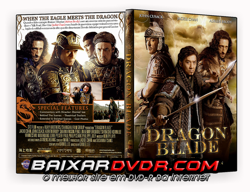 DRAGON BLADE (2015) DUAL AUDIO DVD-R CUSTOM