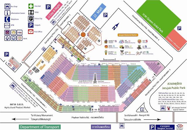 chatuchak map