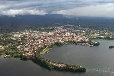 The Capital Port of Malabo, Equatorial Guinea