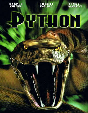 Poster Of Python 2000 Dual Audio 720p DVDRip [Hindi - English] ESubs - UNCUT Free Download Watch Online Worldfree4u