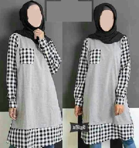 fashion Monochrome Muslim Modern