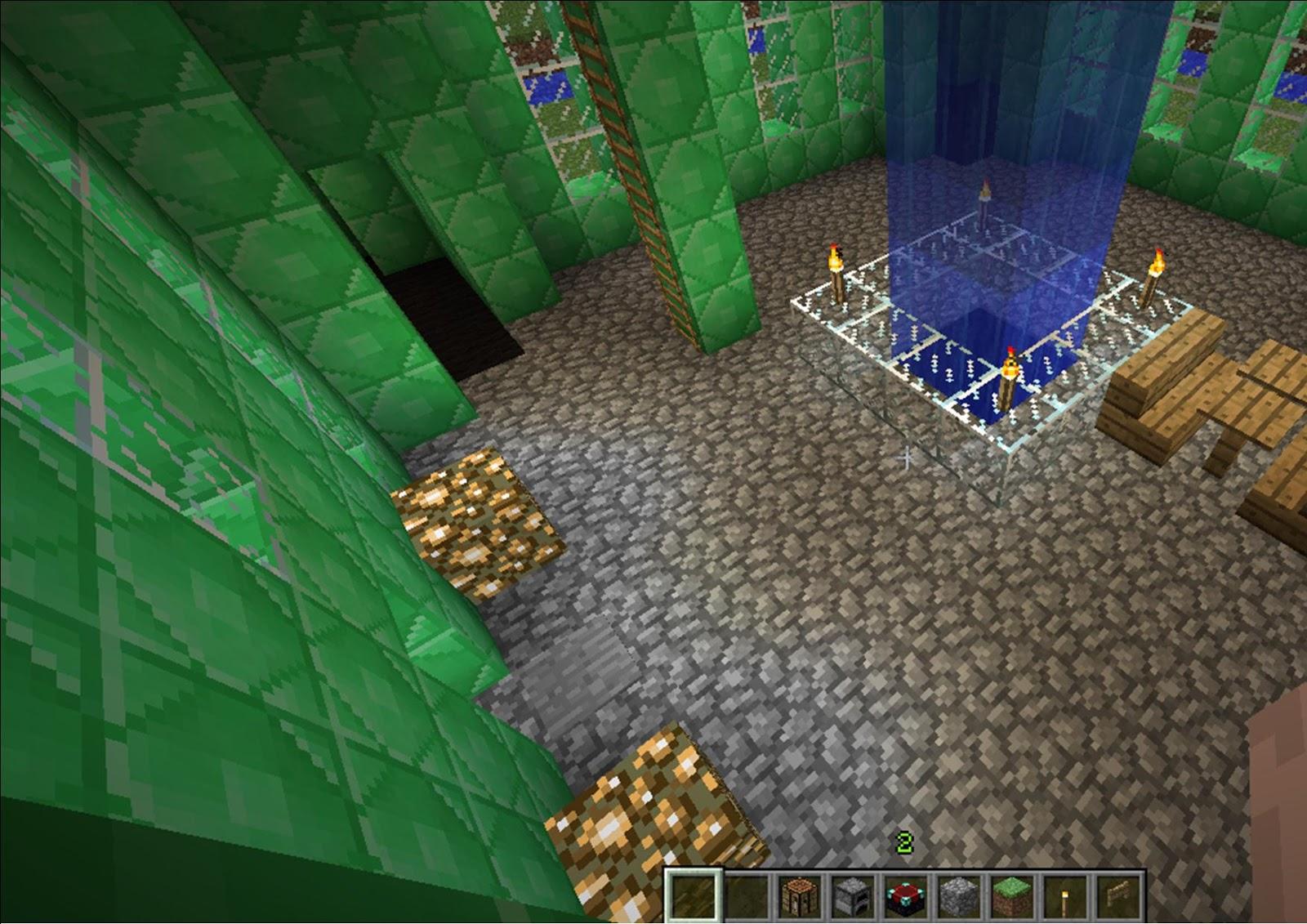Pz C Minecraft Castle