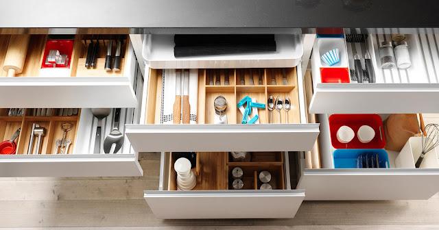 QSN: mantener el orden en la cocina
