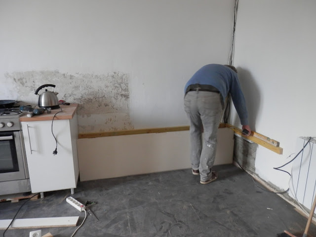 Renovation project - renovating an old French kitchen