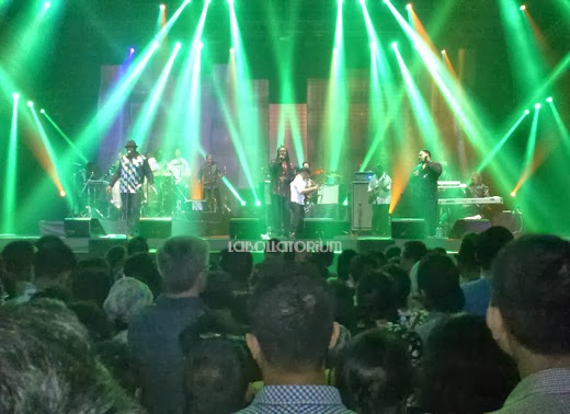 International Java Jazz Festival 2014 Mini Stage Show Malam Hari