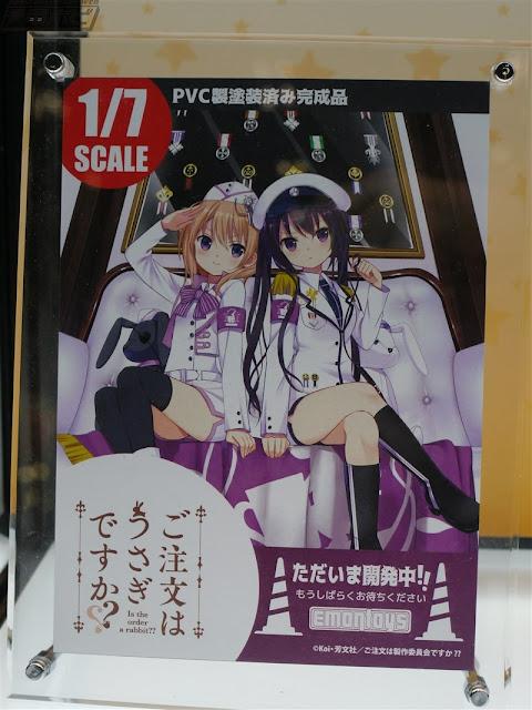 Kokoa y Rize 1/7 de Gochuumon Usagi