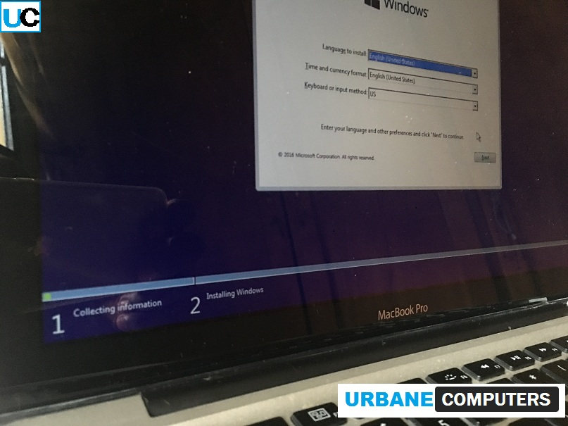 install bootcamp for macbook pro